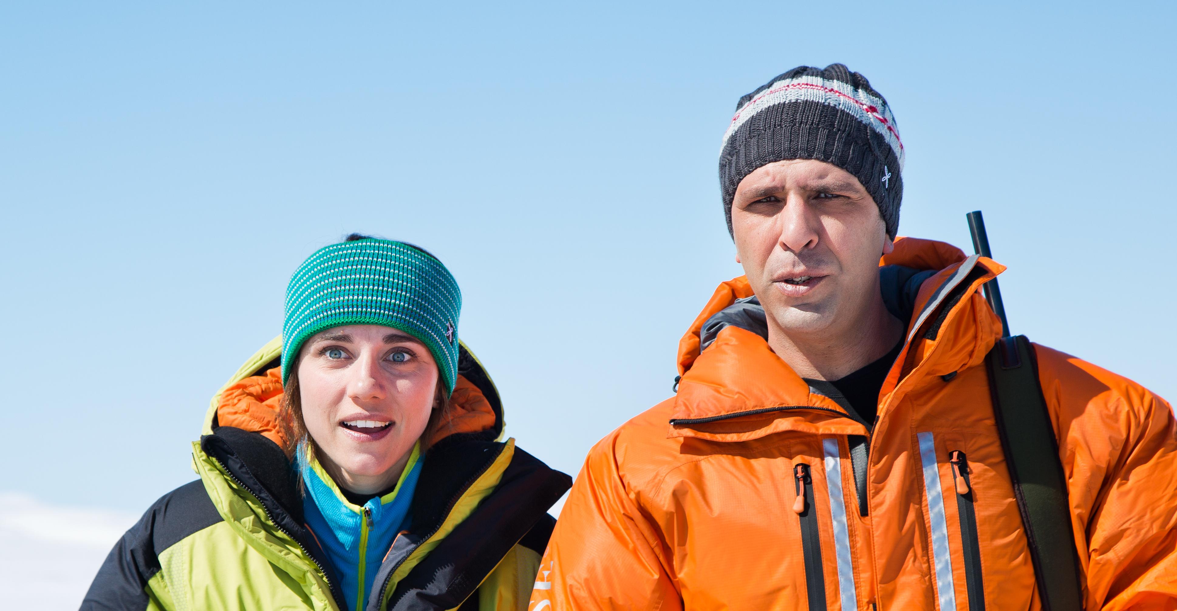 Zalone e Giovanardi nel Polo Nord@MaurizioRaspante
