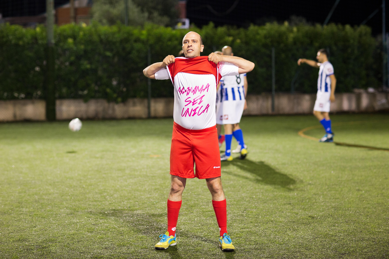 Zalone 'mamma sei unica' calcio@MaurizioRaspante