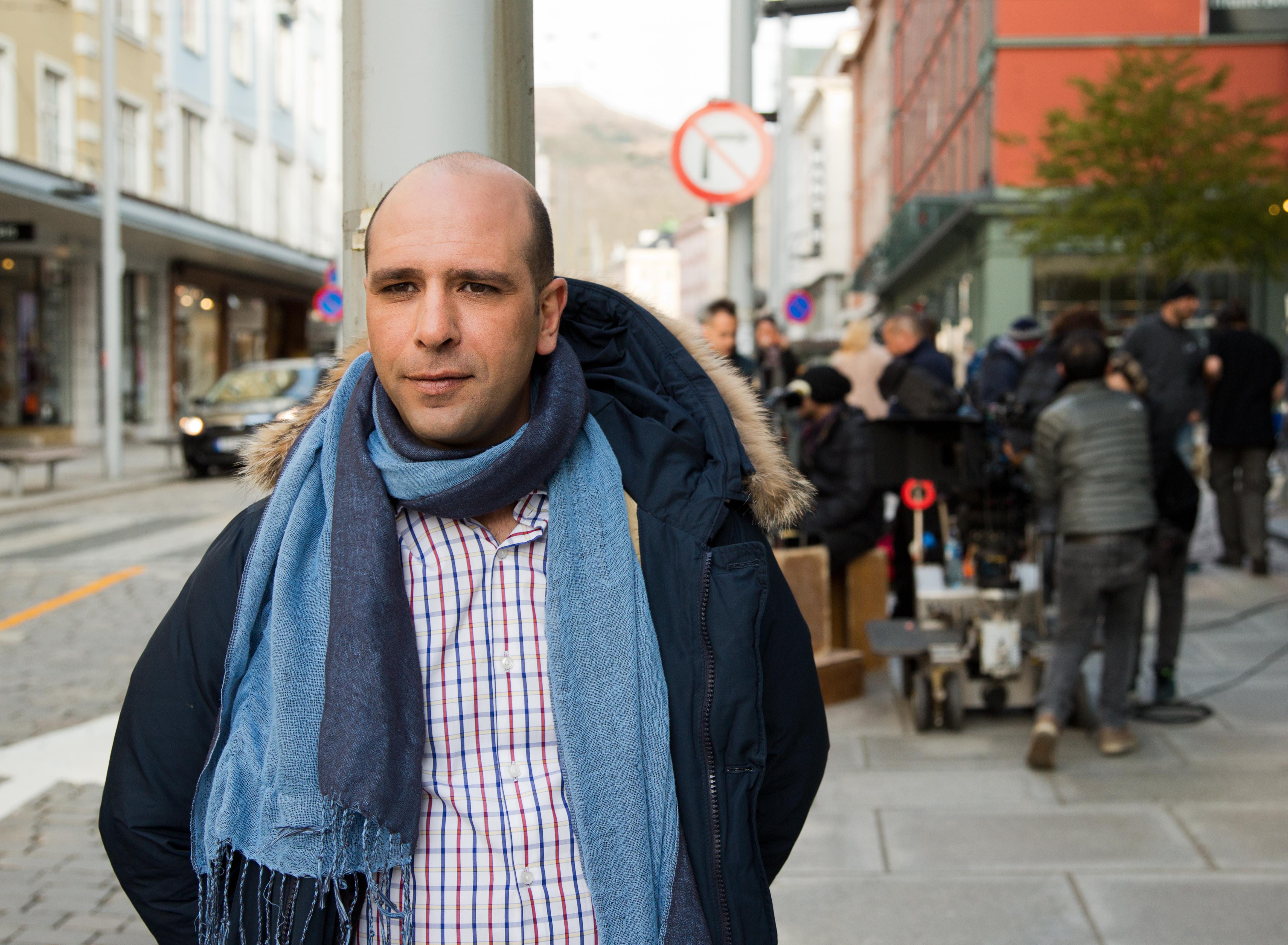 Zalone sciarpa@MaurizioRaspante