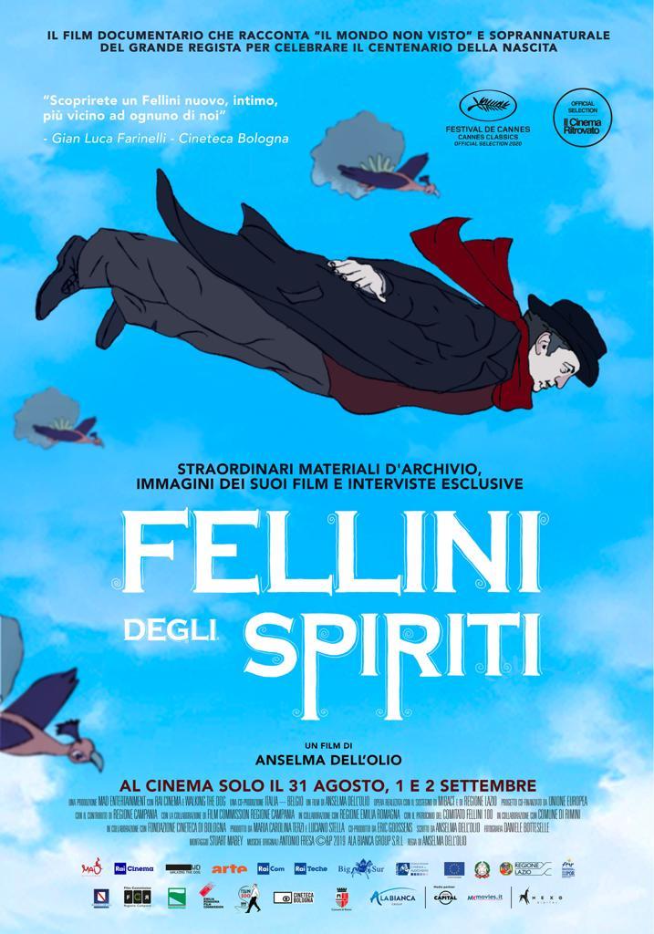 Manifesto Fellini degli spiriti